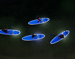 Tours & Classes | Night SUP | Mission Bay Sportcenter