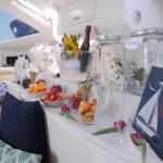 San Diego Luxury Yacht Charters | Malarky Charters | Champagne Breakfast