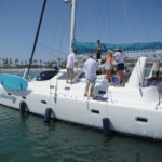 San Diego Luxury Yacht Charters | Malarky Charters | Port Stern View