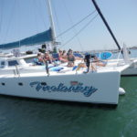 San Diego Luxury Yacht Charters | Malarky Charters | Starboard Bow View