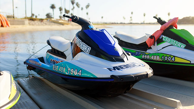 Rental Jet Ski | Image 1 | Mission Bay Sportcenter