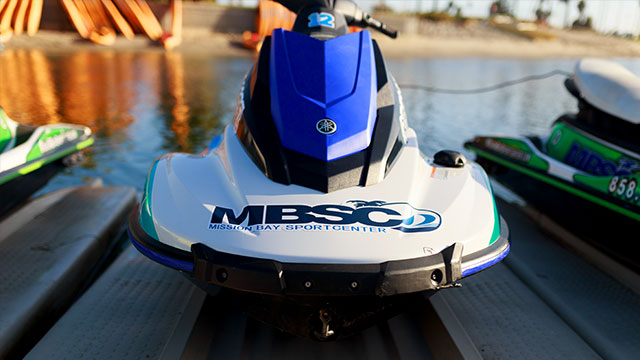 Rental Jet Ski | Image 2 | Mission Bay Sportcenter