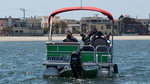 Pontoon Boat Rental | Image 3 | MBSC San Diego, CA