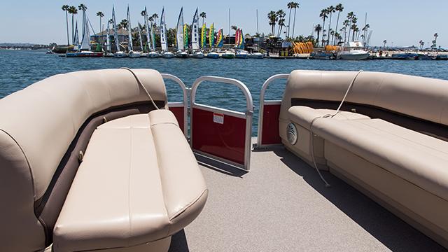 Pontoon Boat Rental | Image 4 | MBSC San Diego, CA