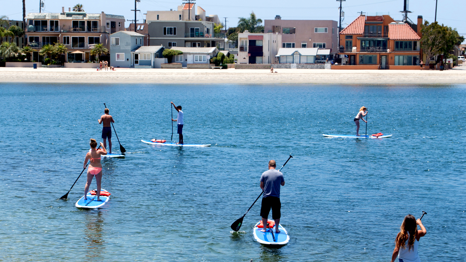 Top 5 Water Sports | Stand Up Paddleboarding