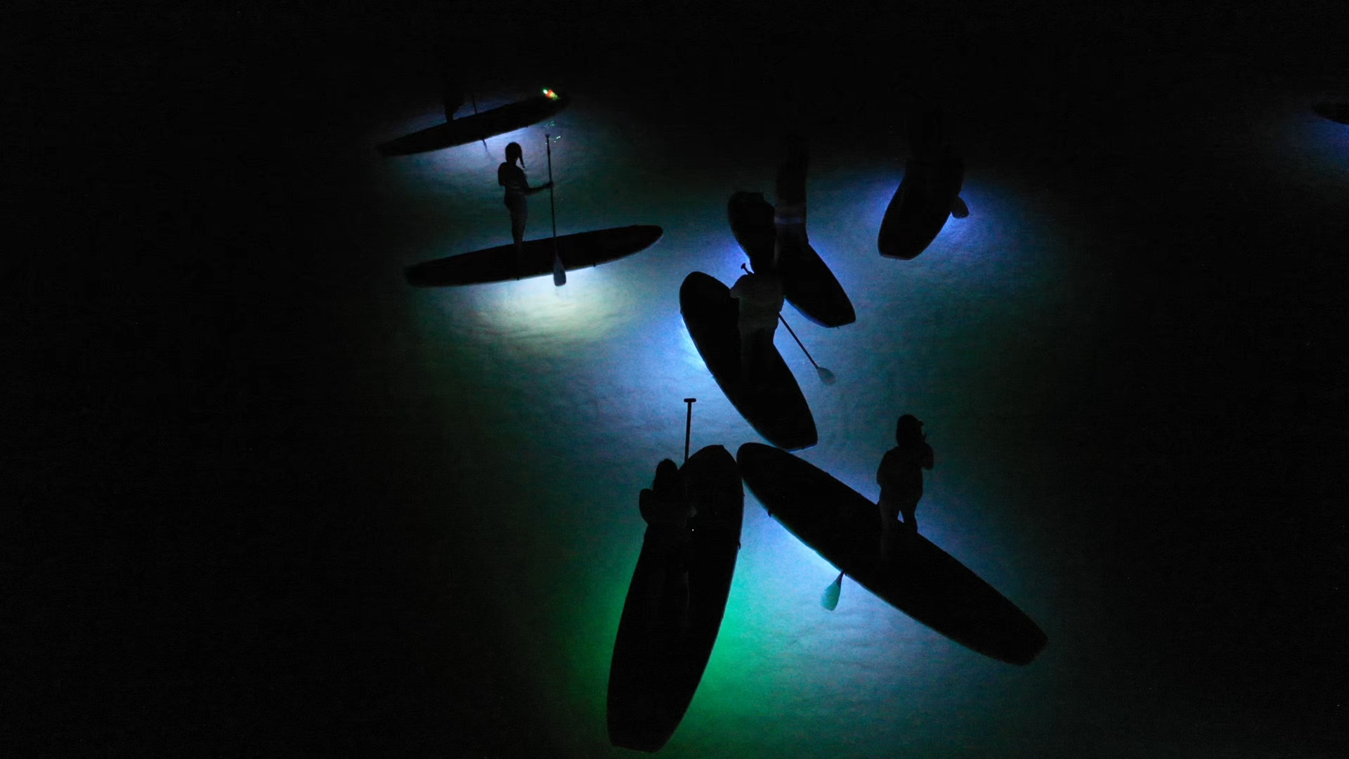 Tours & Classes | Glow Paddleboard Tour | Mission Bay Sportcenter